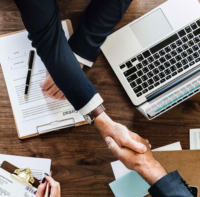 uLoan Partners Hand Shake